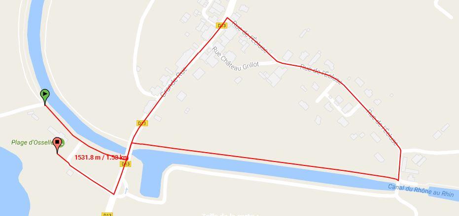 Parcours Course A Pied Course Jeunes 10-11 Ans Triathlon Vauban