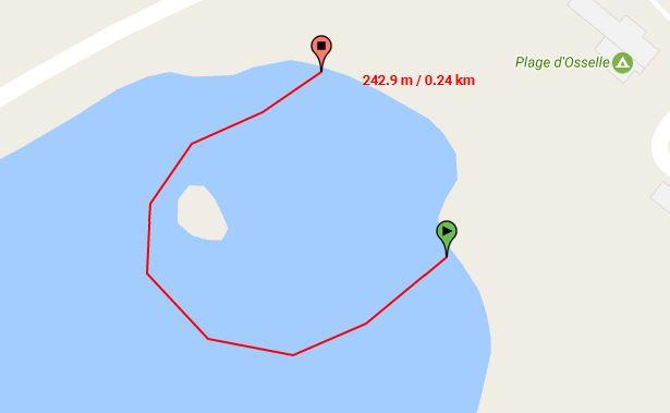 Parcours Natation Course Jeunes 10-11 Ans Triathlon Vauban