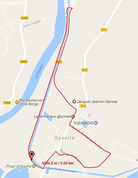 Parcours Velo Course Jeunes 10-11 Ans Triathlon Vauban