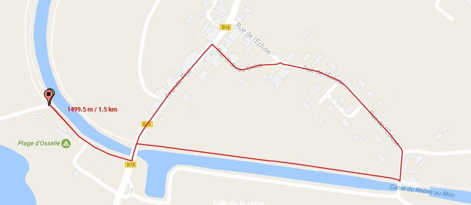 Parcours Velo Course Jeunes 6-9 Ans Triathlon Vauban