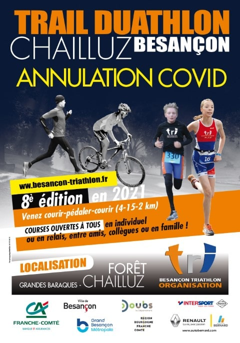 Programme Trail Duathlon Chailluz