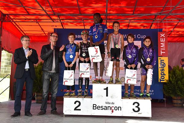 Courses Jeunes Triathlon Vauban 2016