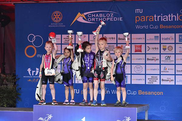Courses Jeunes Triathlon Vauban 2018