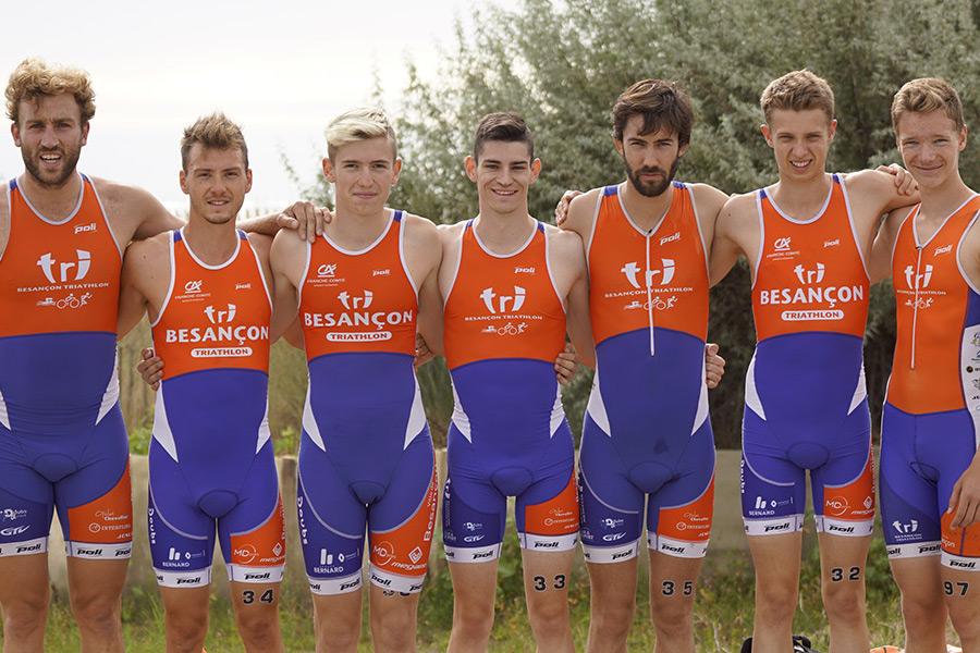 Equipe Masculine D3 Besançon Triathlon
