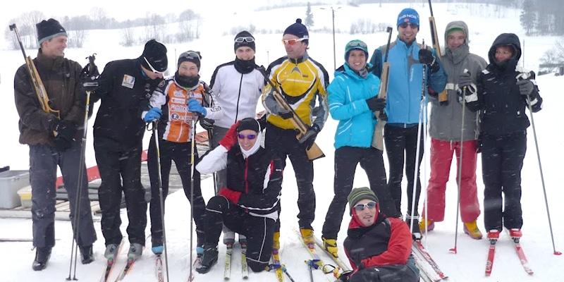 Groupe Long Sortie Biathlon Besançon Triathlon
