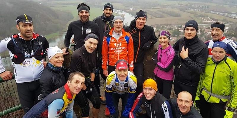 Groupe Long Sortie Trail Besançon Triathlon
