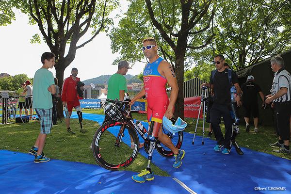 Paratriathlon Triathlon Vauban 2015