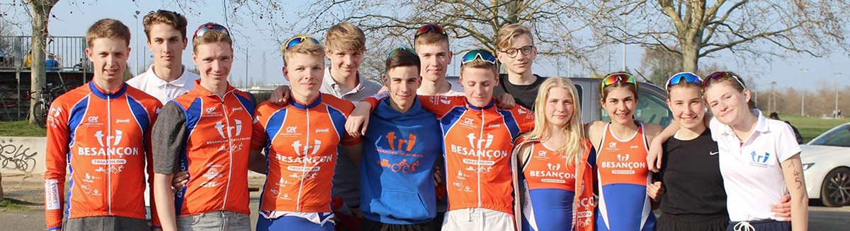 Jeunes Sélection Mâcon Championnats de France de Duathlon 2019