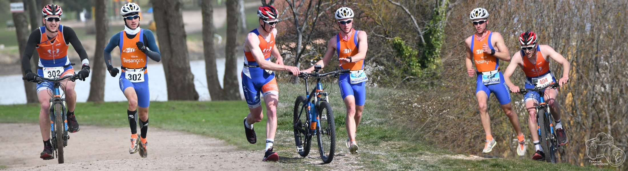 Bike Run Belfort Clément Esseiva et Robin Génisson