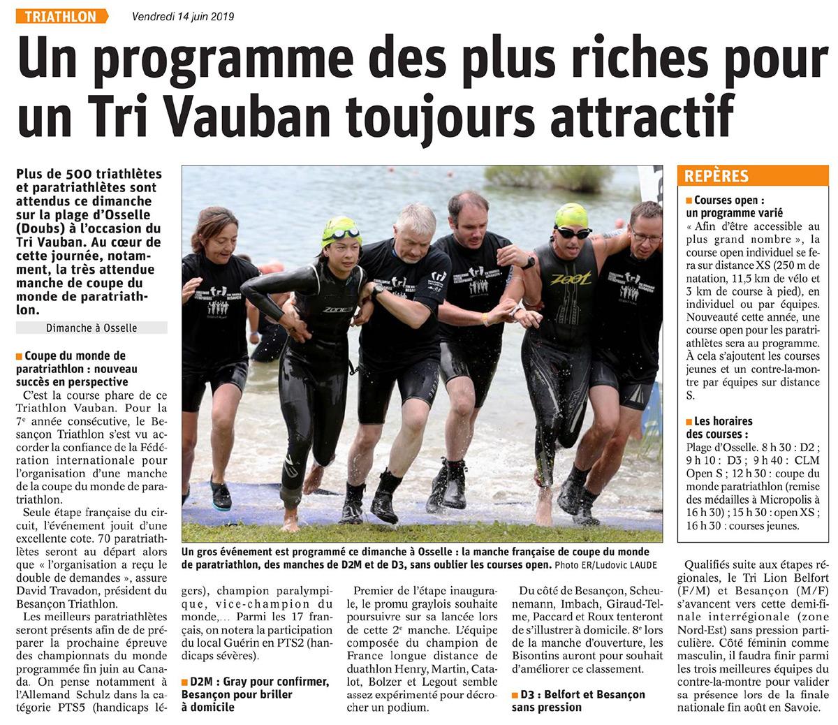 20190614 EST REP Besancon Triathlon Vauban
