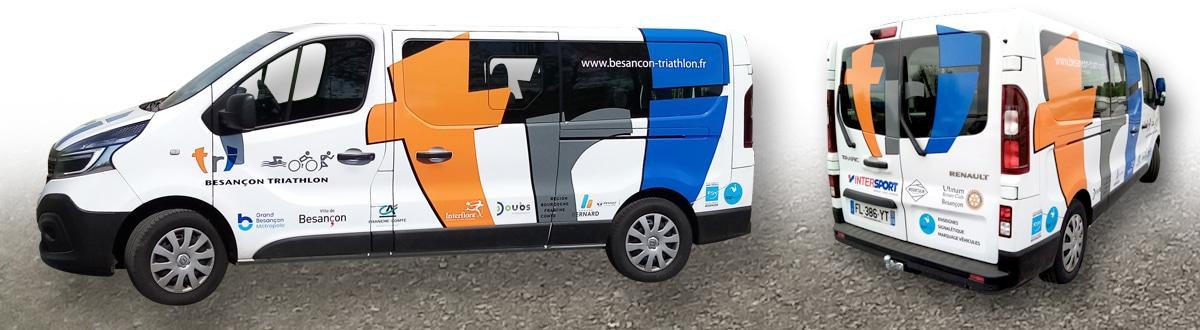 Minibus Besancon Triathlon
